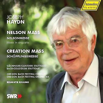 J. Haydn - Haydn: Lord Nelson Mass; Creation Mass [CD] USA import