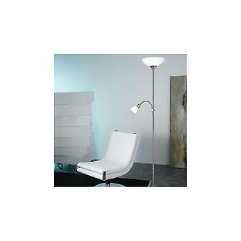 Eglo UP 5 Standing Floor Lamp With Extended Reading Light