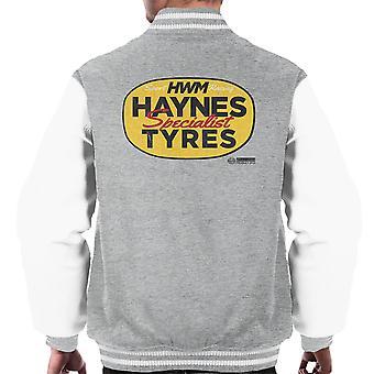 Haynes merk HWM Specialist banden mannen Varsity Jacket