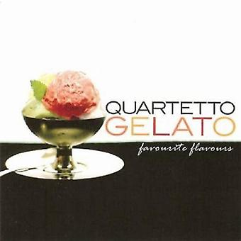 Quartetto Gelato - Favorite Flavors (Best of) [CD] USA import