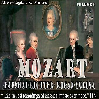 Mozart - Kogan, Maria Yudina, Barchaï, Richter - Mozart - Kogan; Maria Yudina; Barshai; Importer des USA de Richter [CD]