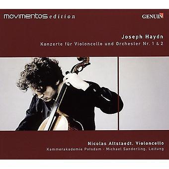 F.J. Haydn - Joseph Haydn: Konzerte F R Violoncello Und Orchester Nr. 1 & 2 [CD] USA import