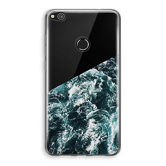 Huawei Ascend P8 Lite (2017) Transparant fall (mjuk) - Ocean Wave