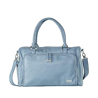 Isoki Double Zip Satchel - Eden Blue