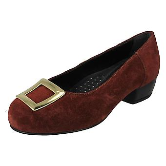 Ladies Da Bella Heeled Court Shoes Kate