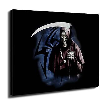 Grim Reaper Death Kill Wall Art Canvas 40cm x 30cm | Wellcoda