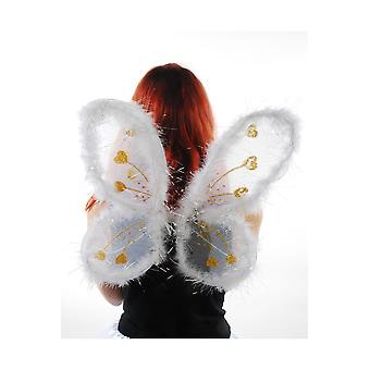 Vingerne hvide engel vinger