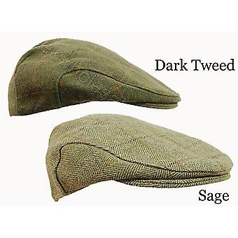 Derby Tweed płaski WPR dostępne w ciemnym Tweed i Sage