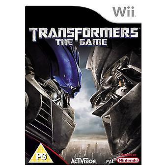 Transformers de game (Wii)-in de fabriek verzegeld