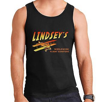 Indiana Jones Jock Lindsays vlucht Charters mannen Vest