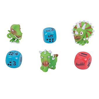 ZooBooKoo Dino Dice Numbers & Dots - Level 1 - Mental Mathematics Games
