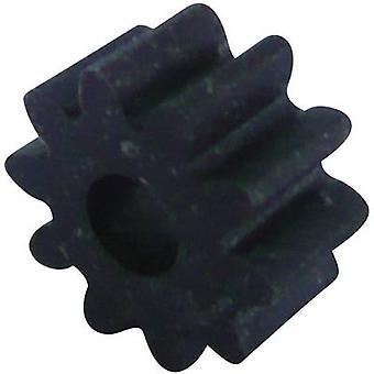 Reely trä, plast kugghjul modultyp: 1.0 No. tänder: 10 1 dator