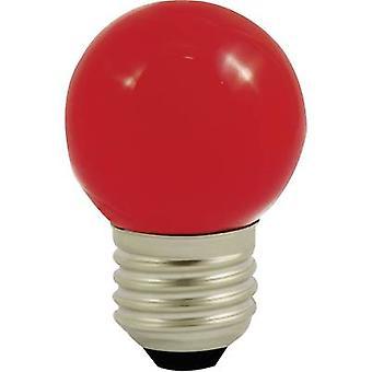 LightMe LM85254 LED (monochrome) E27 Droplet 1 W Red (Ø x L) 45 mm x 70 mm 1 pc(s)
