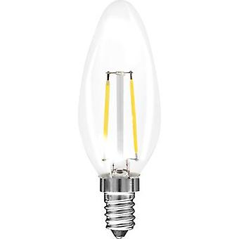 Müller Licht LED EEC A++ (A++ - E) E14 Candle 1.5 W = 15 W Warm white (Ø x L) 35 mm x 98 mm Filament 1 pc(s)