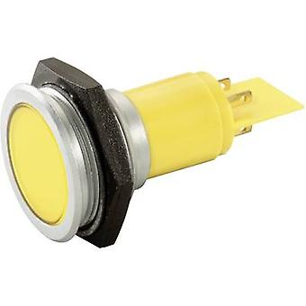 Signalkonstruktion SMFP30H1289 LED-indikatorlampa Gul 230 V AC 20 mA SMFP30H1289