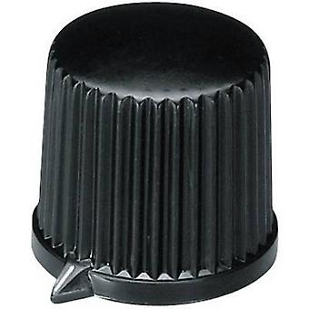 OKW A1312560 Control knob + hand Black (Ø x H) 20.7 mm x 19.7 mm 1 pc(s)