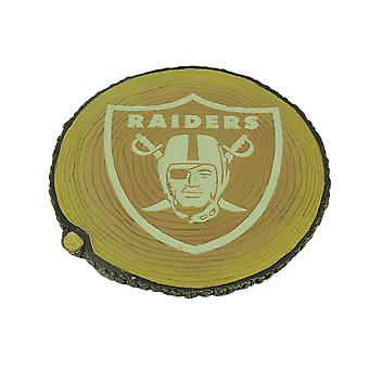 Oakland / Las Vegas Raiders Glow In the Dark Tree Stump Stepping Stone