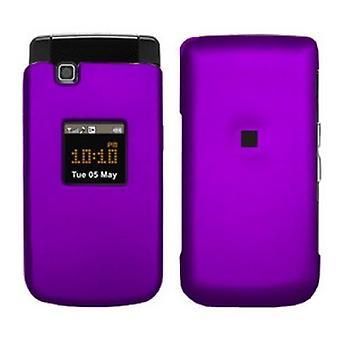 Evercell Samsung MyShot II R460 Snap-On Case - Purple