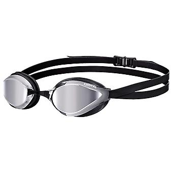 Arena Python Swimming Goggle - Mirrored Lens -Silver/Black