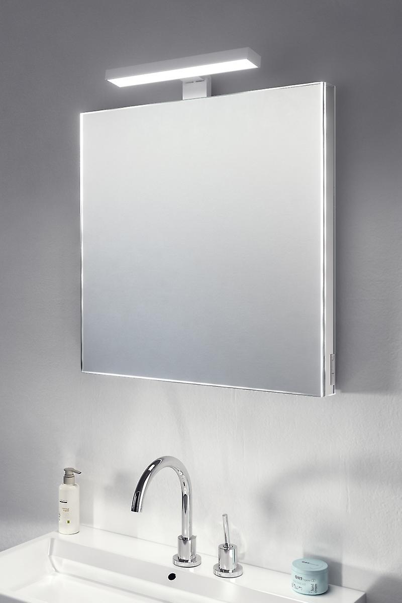 Supra Top Light Mirror with sensor & shaver socket k481