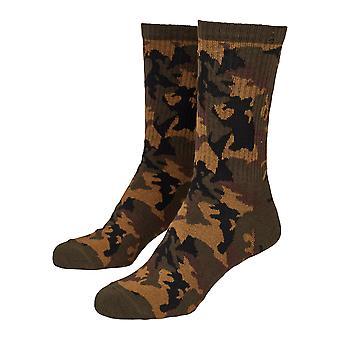Urban Classics-Sports sokker til mænd med camouflage-Dobbeltpakke