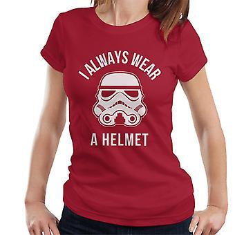 Original Stormtrooper I Always Wear A Helmet Women's T-Shirt