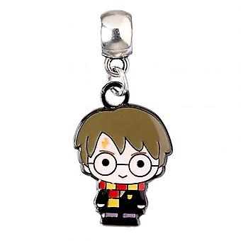 Harry Potter Silver Plated Charm Chibi Harry