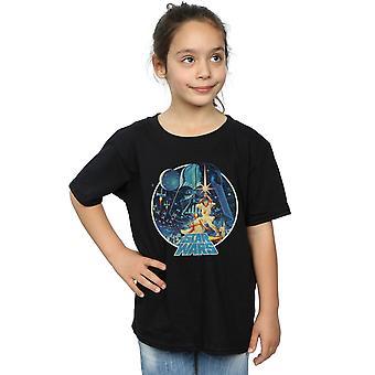Star Wars dziewcząt rocznika zwycięstwo T-Shirt