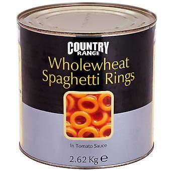 国範囲全粒粉スパゲッティ リングします。