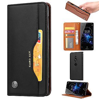 Sony Xperia XZ2 Wallet Case-zwart