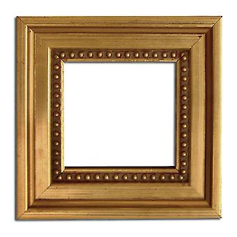 5, 5x55 cm or 2 1/4x2 1/4 inch, photo frame in gold