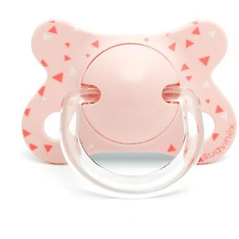 Suavinex Swallow Pink Physiological Pacifier 2 to 4 Months
