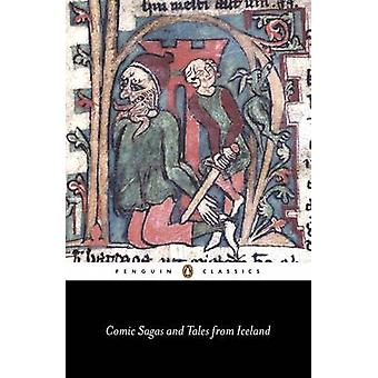 Comic Sagas and Tales from Iceland by Vidar Hreinsson - Robert Kellog