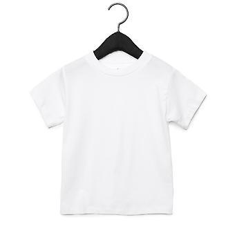 Bella + lona para crianças/crianças Jersey t-shirt