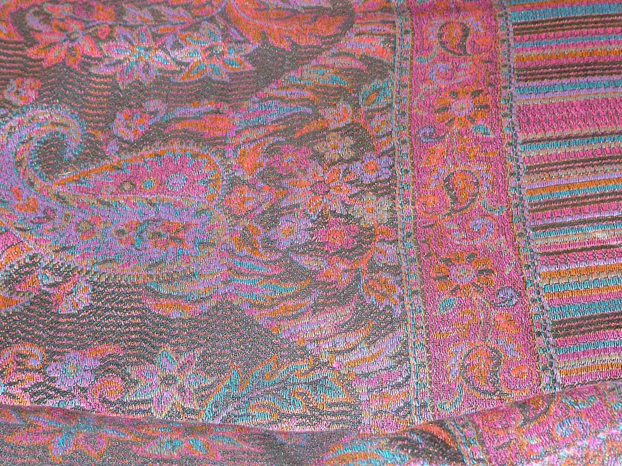 Jamawar Premium Silk Stole Pattern 4005 by Pashmina & Silk