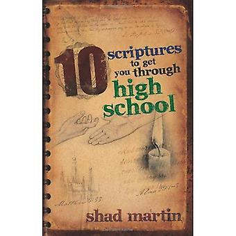 10 Scriptures to Get You Through High School