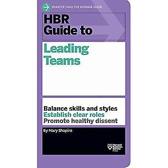 Guide HBR à diriger des équipes