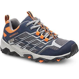 Merrell Boys & Girls M-Moab Waterproof Mesh Walking Shoes