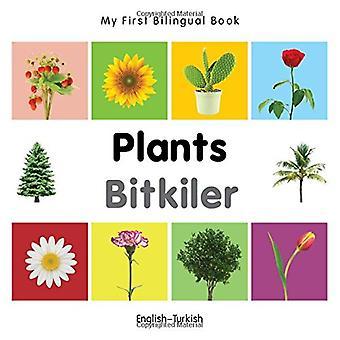 Mijn eerste tweetalige boek - planten - Engels-Turks