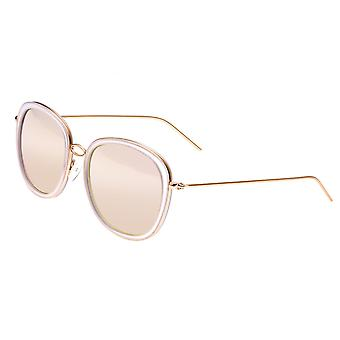 Bertha Scarlett Polarized Sunglasses - Rose Gold/Rose Gold