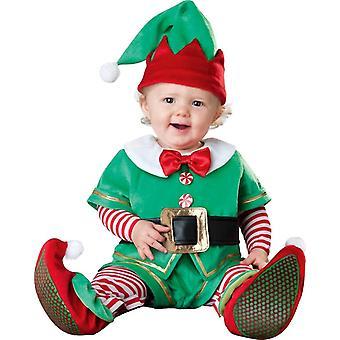 Little Elf spädbarn kostym