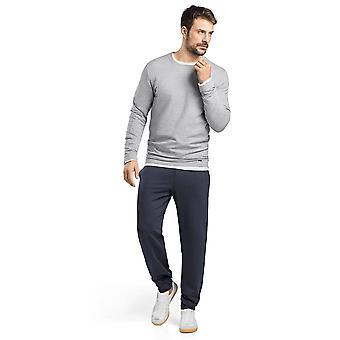 Hanro Mens Sleep & Lounge Living Leisure Sweatshirt Grey