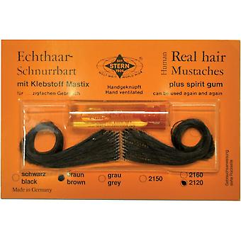 Mustache Real Hair Spanish Black