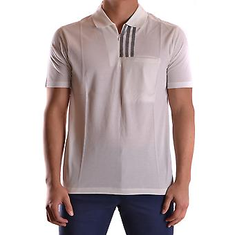 Y-3 Ezbc044014 Herren's weiße Baumwolle Polo Shirt