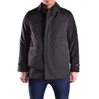 Peuterey Ezbc017040 Men's Black Polyester Outerwear Jacket