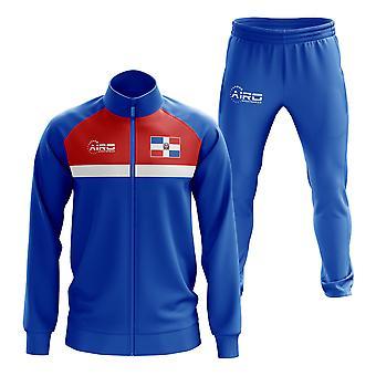 Dominikanische Republik Concept Football Tracksuit (Royal)