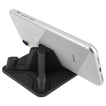 Anti-slip Silicone smartphone holder Light pyramid shape Remax- Black
