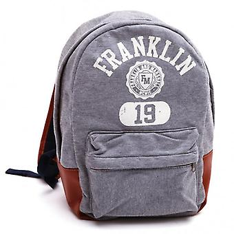 Franklin & Marshall Backpack, Grey Melange