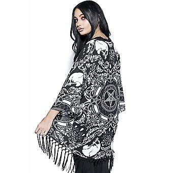 Blackcraft Cult Baroque Print Kimono
