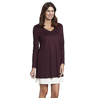 Rosch 1193741-12600 Women's Pure Ruby Red Cotton Nightdress